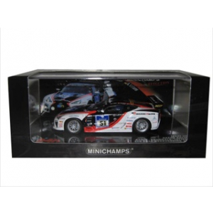 Lexus LFA No 51 24hr Nurburgring 2010 Gazoo Racing Hahne/Krumbach/Lotterer 1/43 Diecast Model Car by Minichamps