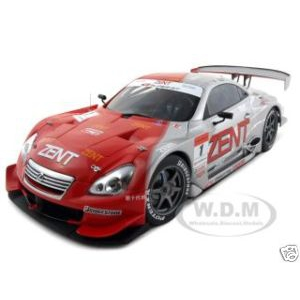 Lexus SC 430 2006 Super GT 1 Zent 1/18 Diecast Model Car by Autoart