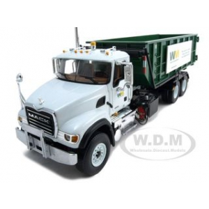 Mack Granite Waste Management Roll Off Refuse Garbage Truck 1/34 Diecast Model by First Gear