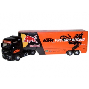 "Man KTM Factory Racing Team Truck ""Red Bull"" 1/32 Model by Automaxx"