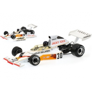 Mclaren Ford M23 Yardley Jacky Ickx German GP 1973 Limited to 690pc 1/18 Diecast Model Car by Minichamps