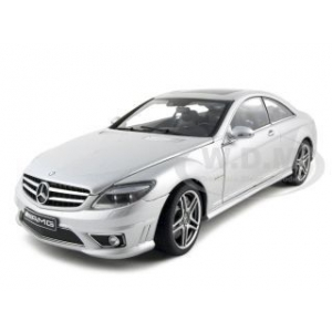 Mercedes CL63 AMG Silver 1/18 Diecast Model Car by Autoart