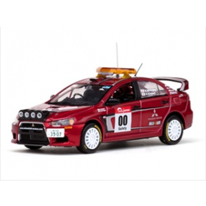 Mitsubishi Lancer Evolution X 00 Rally Japan 2007 Course Car 1/43 Diecast Model Car by Vitesse