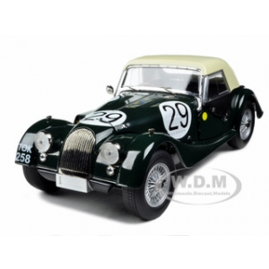 Morgan Plus 4 Super Sports TOK258 29 1962 Le Mans Winner C Lawrence/R Shepard Baron 1/18 Diecast Model Car by Kyosho