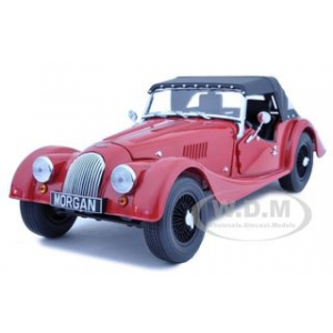 Morgan 4/4 Sport 2008 Red 1/18 Diecast Car Model by Kyosho