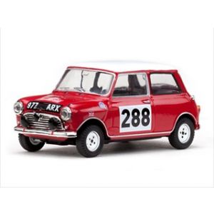 Morris Cooper 288 R.Aaltonen/A.Ambrose Rally Monte Carlo 1963 1/43 Diecast Model Car by Vitesse