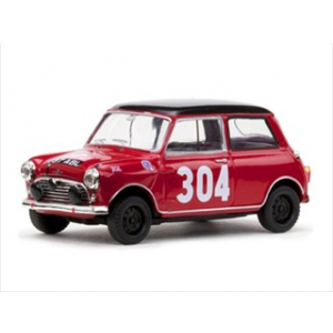 Morris Cooper 304 P.Moss/A.Wisdom 1st Ladies Rally Monte Carlo 1962 1/43 Diecast Model Car by Vitesse