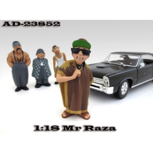 "Mr. Raza ""Homies"" Figurine For 118 Scale Diecast Model Cars by American Diorama"