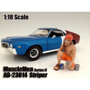 "Musclemen ""Striper"" Figure For 118 Scale Models by American Diorama"
