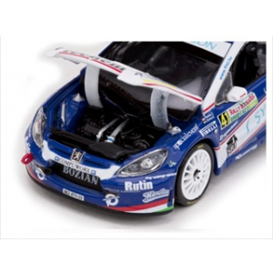 Peugeot 307 WRC 41 F.Turn/G.Zsiros Rally Bulgaria 2010 Limited Edition 1 of 541 Produced Worldwide 1/43 Diecast Model Car by Vitesse