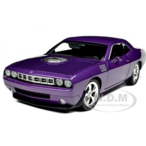 Plymouth Cuda Concept Plum Crazy/Purple 1/18 Diecast Car Model by Highway 61