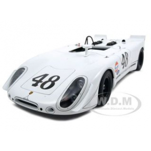 Porsche 908/2 2nd Position Green Park Sebring 1970 48 Steve Mcqueen 1/18 Diecast Car Model by Autoart