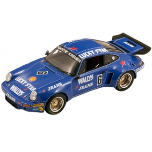 Porsche 911 RSR 6 Nurburgring 1974 Bob Wollek 1/18 Model Car by Spark