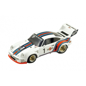Porsche 935 1 Martini Winner Vallelunga 1976 J.Ickx J.Mass 1/18 Model Car by Spark