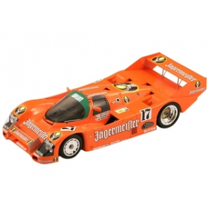 Porsche 962 17 Jagermeister Winner SPA 1986 Thierri Boutsen / Frank Jelinski 1/18 Model Car by Spark