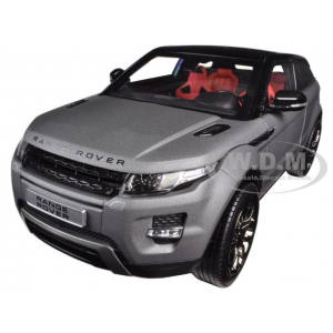 Range Rover Evoque Grey 2 Doors 1/18 Diecast Car Model by Welly