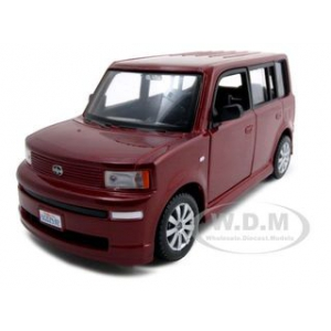 Scion XB Burgundy 1/24 Diecast Model Car by Maisto