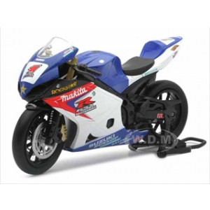 "Suzuki GSX-R1000 1 ""Makita Suzuki Rockstar"" Bike Motorcycle 1/12 by New Ray"