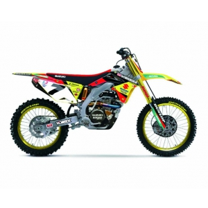 Suzuki RM-Z 450 7 James Stewart Motorcycle Model 1/12 by New Ray