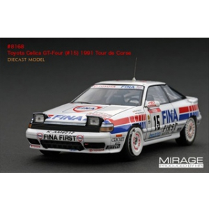 Toyota Celica GT-Four 15 1991 Rally Tour de Corse 1/43 Diecast Model Car by HPI Racing